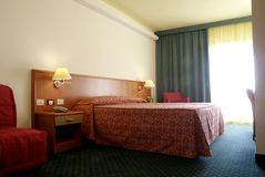 δωμάτιο ξενοδοχείου Στοκ φωτογραφία με δικαίωμα ελεύθερης χρήσης
