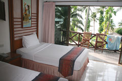δωμάτιο ξενοδοχείου στοκ εικόνες με δικαίωμα ελεύθερης χρήσης