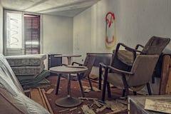 Δωμάτιο ξενοδοχείου Deslate Στοκ φωτογραφία με δικαίωμα ελεύθερης χρήσης