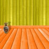δωμάτιο ξύλινο διανυσματική απεικόνιση