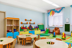 Δωμάτιο παιχνιδιών Στοκ εικόνες με δικαίωμα ελεύθερης χρήσης