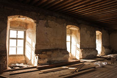 δωμάτιο που καταστρέφετ&alp Στοκ Εικόνα