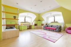 Δωμάτιο που σχεδιάζεται με τη φαντασία Στοκ Εικόνες