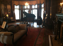 Δωμάτιο στο μέγαρο Casa Loma Στοκ Φωτογραφία