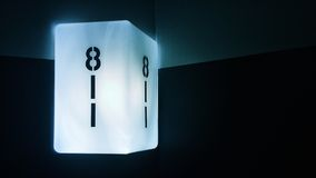 Δωμάτιο 811 στο ξενοδοχείο NYC ACE Στοκ φωτογραφία με δικαίωμα ελεύθερης χρήσης