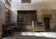 Δωμάτιο στο σπίτι EL Sehemy, Κάιρο, Αίγυπτος Στοκ Φωτογραφίες