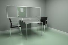Δωμάτιο συνέντευξης Στοκ Εικόνες