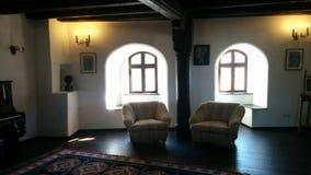 Δωμάτιο του Castle πίτουρου Στοκ εικόνα με δικαίωμα ελεύθερης χρήσης