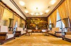 Δωμάτιο υποδοχής στο παλάτι επανένωσης, Chi Ho Στοκ Φωτογραφία