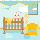 δωμάτιο χαλάρωσης μωρών Στοκ Εικόνες