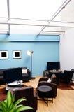 Δωμάτιο ψυχαγωγιών με το φεγγίτη Στοκ Εικόνες