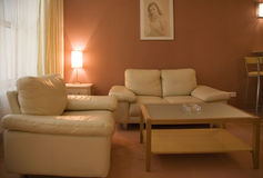δωμάτιο 5 σαλονιών Στοκ φωτογραφία με δικαίωμα ελεύθερης χρήσης