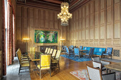Δωμάτιο Munch στο Όσλο Δημαρχείο, Νορβηγία στοκ φωτογραφία