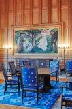 Δωμάτιο Munch, Όσλο Δημαρχείο, ΝΟΡΒΗΓΙΑ στοκ φωτογραφία