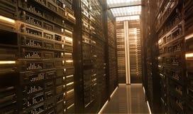Δωμάτιο Techno Στοκ φωτογραφία με δικαίωμα ελεύθερης χρήσης