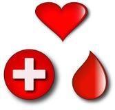 δωρεά αίματος Στοκ Εικόνες
