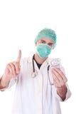 Δωροδοκία απορριμάτων γιατρών Στοκ φωτογραφία με δικαίωμα ελεύθερης χρήσης