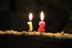 Δωδέκατα γενέθλια Στοκ φωτογραφίες με δικαίωμα ελεύθερης χρήσης