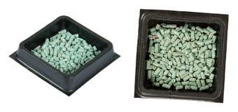 Δόλωμα δηλητήριων ένα ποντίκι, έναν αρουραίο, ή ένα τρωκτικό, που απομονώνεται για Στοκ φωτογραφία με δικαίωμα ελεύθερης χρήσης