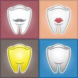 Δόντια - απεικόνιση  Στοκ Εικόνες