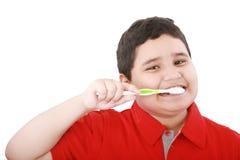 δόντια βουρτσίσματος αγ&o Στοκ Εικόνα