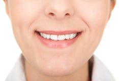 δόντια ορατά Στοκ Φωτογραφία