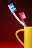 δόντι βουρτσών στοκ φωτογραφία με δικαίωμα ελεύθερης χρήσης