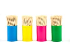 δόντι επιλογών βάζων Στοκ εικόνα με δικαίωμα ελεύθερης χρήσης