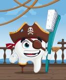 Δόντι πειρατών Στοκ φωτογραφία με δικαίωμα ελεύθερης χρήσης