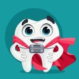 Δόντι Superhero Στοκ Φωτογραφίες
