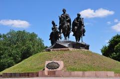 Δόξα Cossack πάρκων Στοκ Φωτογραφία