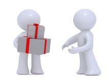 δόσιμο δώρων Διανυσματική απεικόνιση