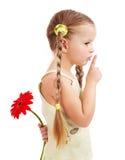 δόσιμο λουλουδιών παι&delta στοκ εικόνες