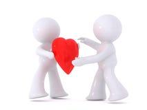 δόσιμο της αγάπης Ελεύθερη απεικόνιση δικαιώματος