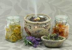 Δύναμη λουλουδιών aromatherapy Στοκ φωτογραφίες με δικαίωμα ελεύθερης χρήσης