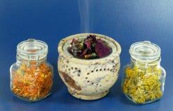 Δύναμη λουλουδιών aromatherapy Στοκ φωτογραφία με δικαίωμα ελεύθερης χρήσης