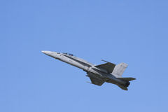 δύναμη Boeing φ αέρα 18 hornet Στοκ εικόνες με δικαίωμα ελεύθερης χρήσης