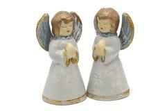 Δύο άγγελοι Στοκ Φωτογραφίες