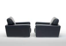Δύο έδρες βραχιόνων στοκ φωτογραφίες