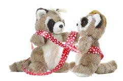 Δύο αντέχουν το panda Στοκ εικόνα με δικαίωμα ελεύθερης χρήσης