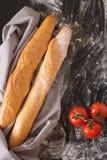 Δύο από το γαλλικό baguette στοκ φωτογραφία με δικαίωμα ελεύθερης χρήσης