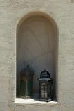 Δύο αραβικοί διακοσμημένοι ύφος αναπτήρες Στοκ Φωτογραφία