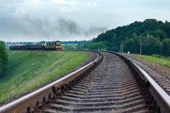 Φορτηγό τρένο Στοκ εικόνες με δικαίωμα ελεύθερης χρήσης