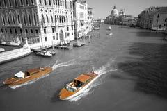 Δύο Βενετία αμάξι Στοκ Εικόνες