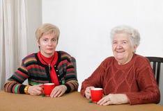 Δύο γενεές Στοκ Εικόνες