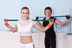 Δύο γυναίκες ικανότητας Στοκ Φωτογραφία