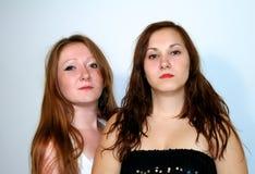 δύο γυναίκες Στοκ Φωτογραφία