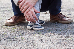 Δύο ζευγάρια των ποδιών, Στοκ φωτογραφία με δικαίωμα ελεύθερης χρήσης