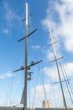 Δύο ιστοί Sailboat Στοκ εικόνα με δικαίωμα ελεύθερης χρήσης