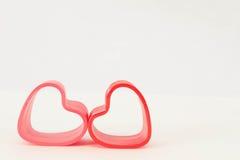 Δύο καρδιές άνοιξη Στοκ Εικόνες